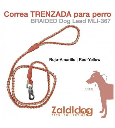 Perro Correa Trenzada 1.40 m