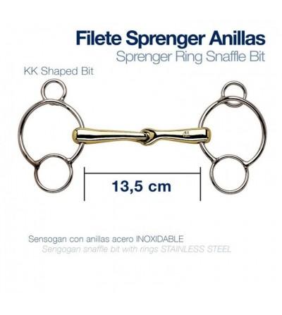 Filete HS Sprenger Pessoa 3 Piezas