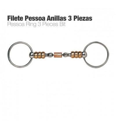 Filete Pessoa Anillas 3 Piezas PAQ10070213