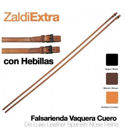 Falsa-Rienda Inglesa Zaldi Extra para Filete