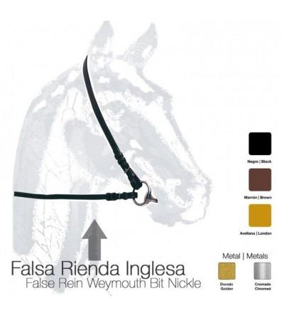 Falsa-Rienda Inglesa para Filete