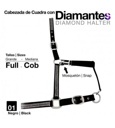 Cabezada Cuadra con Diamantes 5252