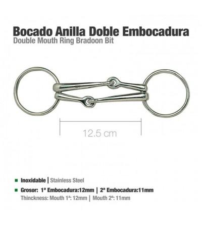 Filete Doble Embocadura 12.5 cm