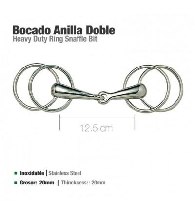 Filete Doble Anilla 21520 12.5 cm