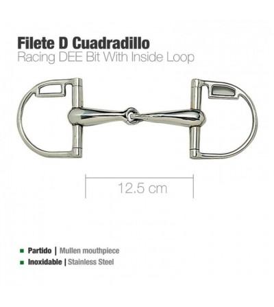 Filete D Inoxidable con Cuadradillo 21967