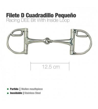 Filete D Inoxidable con Cuadradillo Pequeño 21966L