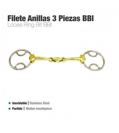 Filete Anillas 3 Piezas Bbi Inoxidable