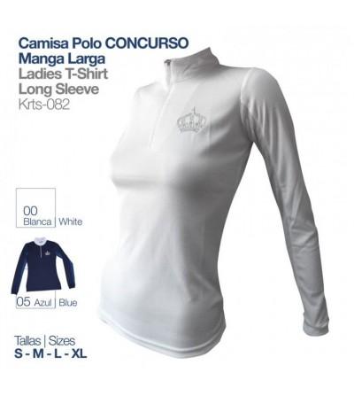 Camisa Polo Concurso Manga Larga KRST-082