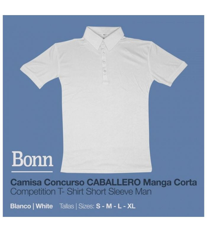 Camisa Concurso Bonn Manga Corta Caballero