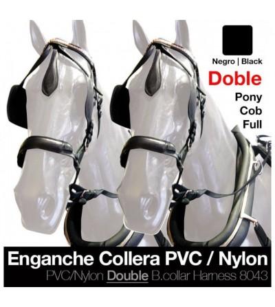 Enganche a la Inglesa de Pvc/Nylon con Collarón Tronco