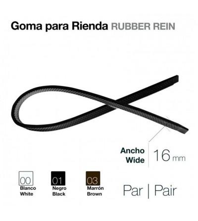 Goma para Rienda (Par) 16 mm