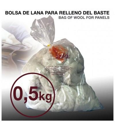 Bolsa Relleno de Lana para Baste Zaldi 0.5 kg