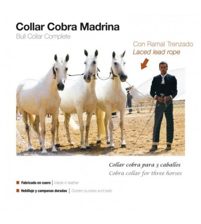 Collar Cobra Madrina con Ramal Trenzado