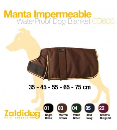 Perro Manta Impermeable CB600