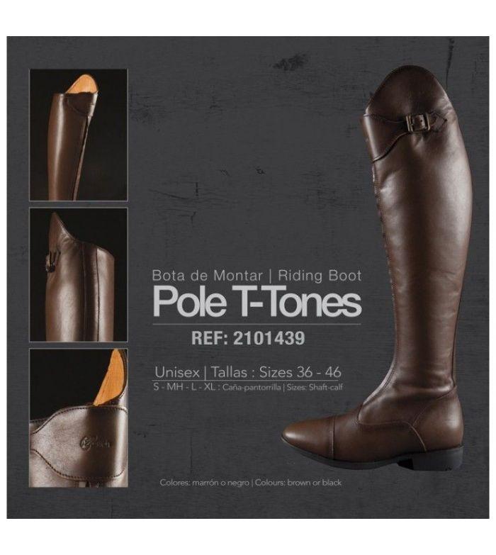 Bota de Montar Pole T-Tones