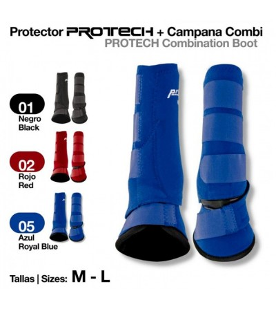 Protector Protech + Campana Combi