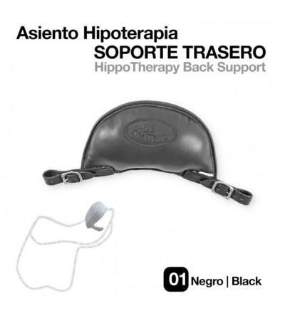 Asiento Hipoterapia Soporte Trasero Negro