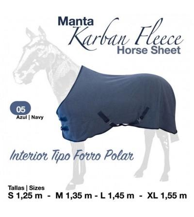 Manta Karban Fleece RG6465 Azul