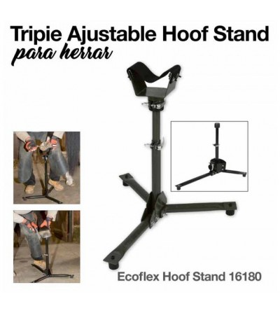 Tripie Ajustable Hoof Stand para Herrar KERBL