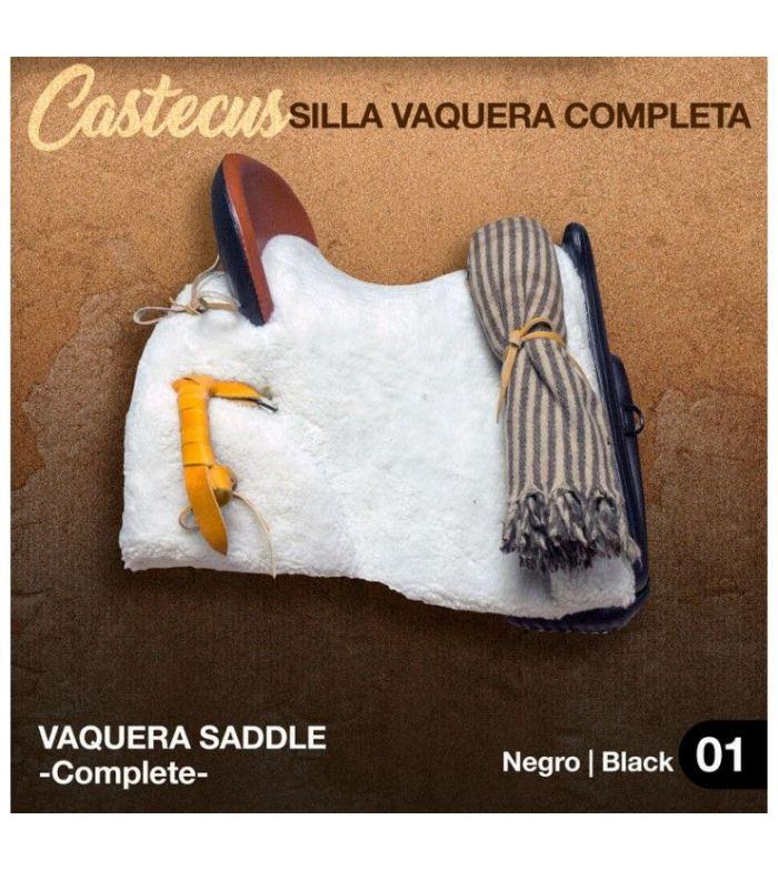 Silla Vaquera -Castecus-(Completa) Negro