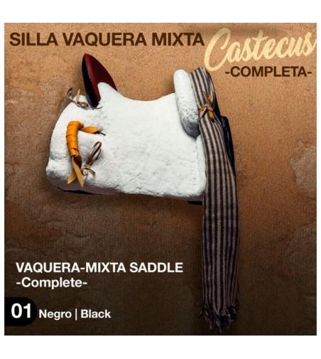 Silla Vaquera de Fibra Mixta Castecus