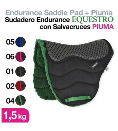 Sudadero Endurance con Salvacruces Piuma Negro
