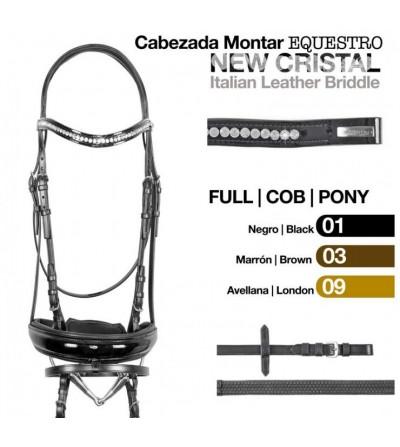 Cabezada Montar Equestro New Crystal