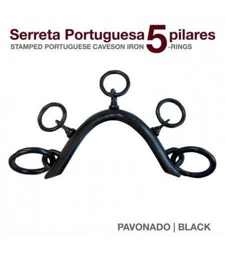 Serreta Portuguesa 5 Pilares Pavonado