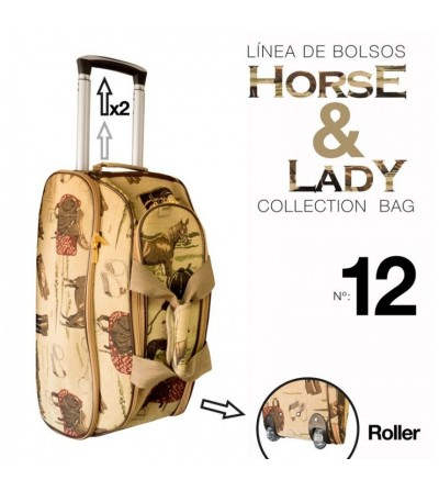 Bolso Colección Horse & Lady nº12