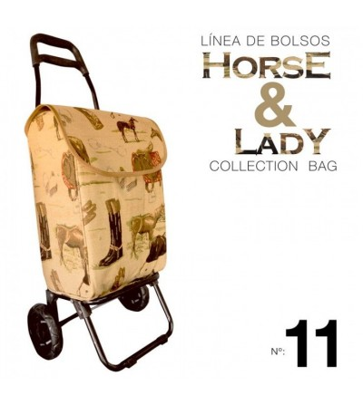 Bolso Colección Horse & Lady nº11