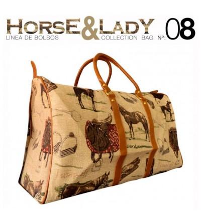 Bolso Colección Horse & Lady nº8
