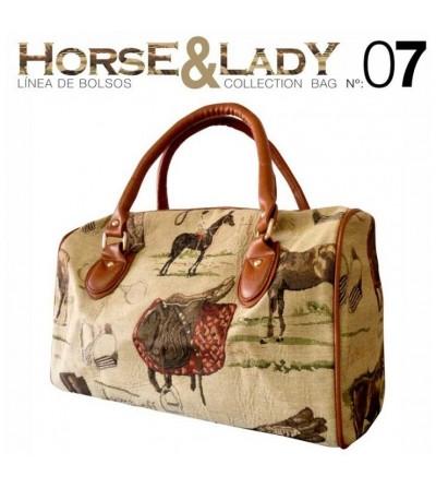Bolso Colección Horse & Lady nº7