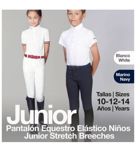 Pantalón Equestro Elástico Junior