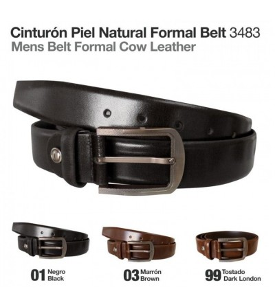 Cinturón Piel Natural Formal 3483