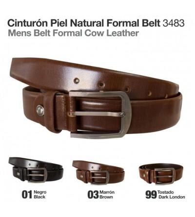 Cinturón Piel Natural Formal 3483