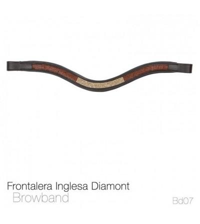 Frontalera Inglesa Diamont Bb07