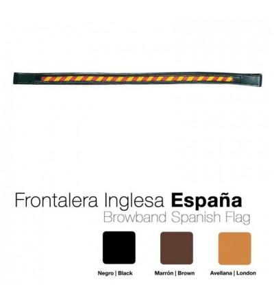 Frontalera Inglesa Bandera de España 1053