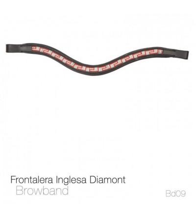 Frontalera Inglesa Diamont Bb09