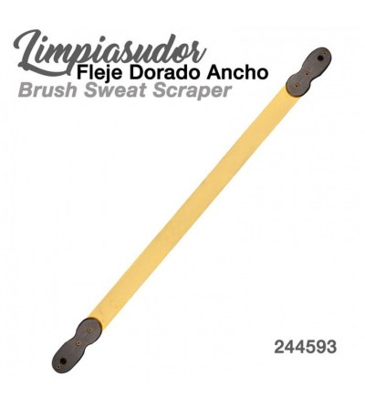 Limpiasudor Fleje Dorado Ancho 244593