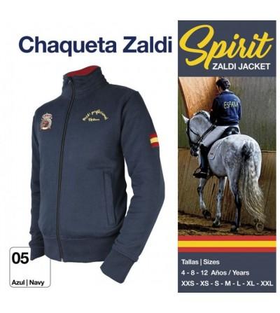 Chaqueta Zaldi Spirit Azul