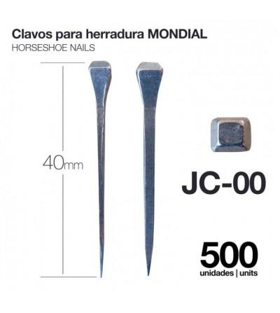 Clavos para Herradura Mondial JC-00 500 Uds