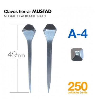 Clavos para Herrar Mustad A-4 250 Uds