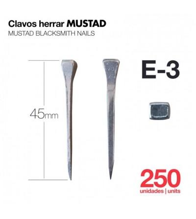 Clavos para Herrar Mustad E-3 250 Uds