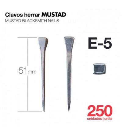 Clavos para Herrar Mustad E-5 250 Uds