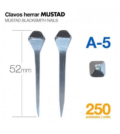 Clavos para Herrar Mustad A-5 250 Uds