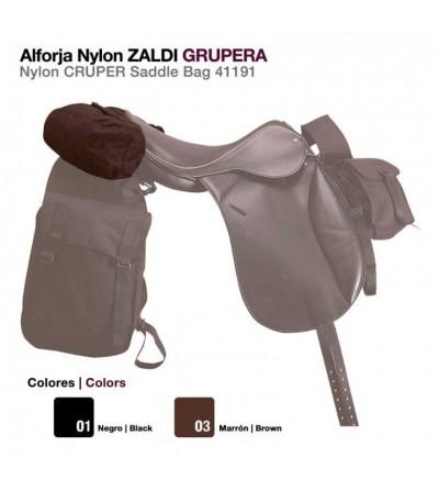 Alforja de Nylon Zaldi Grupera