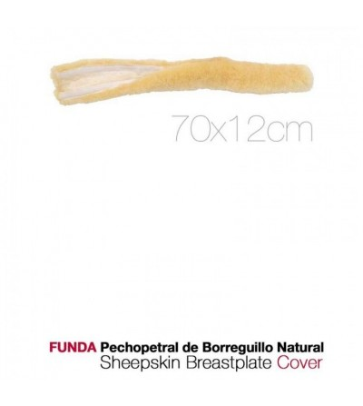Funda Pechopetral de Borreguillo Natural