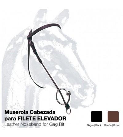 Muserola Cabezada Filete Elevador