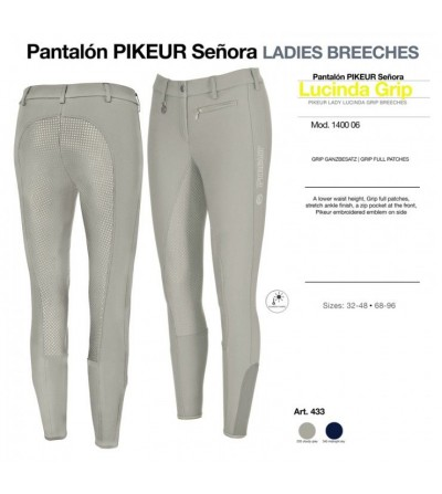 Pantalón Pikeur Señora Lucinda Grip 1400