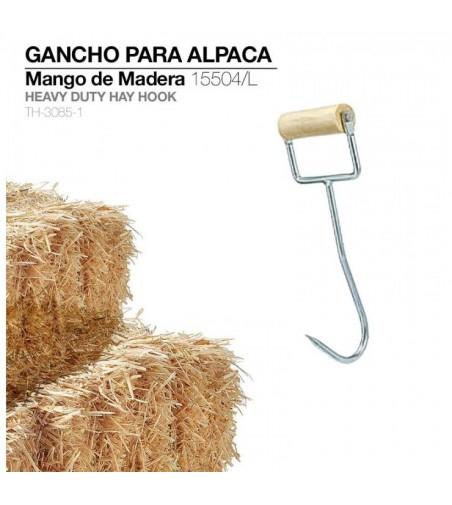 Gancho para Alpaca Mango Madera 15504/l